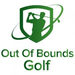 out of bounds golf logo